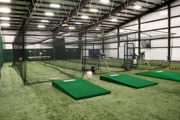 Indoor Practice Facility at Hampshire High School