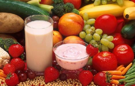 Healthy Snacks - Fruits, Vegetables, and Dairy